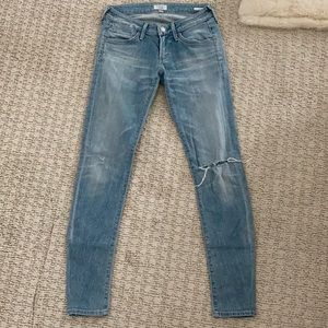 AGolde low waisted jeans slim fit